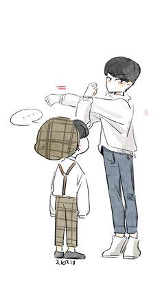 Seventeen || Art || Mingyu || Woozi