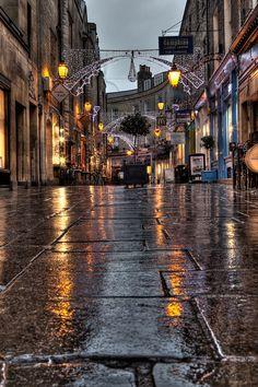 """500px / Photo """"Rainy Streets of Cambridge"""" by benjaminjphoto"""