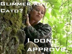 I'm with Katniss its supposed to be Cato and Clove!! Duh!!