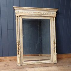 This carved French column mirror has a great classical look, and would be an elegant addition to any room.  Love the look? We also have a very similar mirror in stock with a single column surround.  #cheshire #reclamation #salvage #antiques #collectables #vintage #retro #home #garden #design #interiordesign #furniture #antique #design #reclaimed #rustic #industrial
