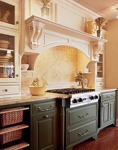 Spring seems to be the favored time for kitchen remodels around here.     Designing kitchens is my favorite thing to do, and I get giddy whe...