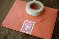 Mihoko Seki Stamp Stickers {Girl}