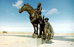 Some Gave All: Pony Express Memorial, Casper Wyoming