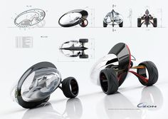 Ozon, the three-wheeled mode of transport for the future Design Transport, Mode Of Transport, Trike Motorcycle, Motorcycle Design, Futuristic Cars, Futuristic Design, Mobiles, Concept Motorcycles, Gadget