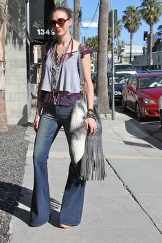 Foxtail on Abbot Kinney Abbot Kinney Blvd, Street Fashion, Bell Bottoms, Bell Bottom Jeans, Street Style, Pants, Urban Fashion, Trouser Pants, Urban Style