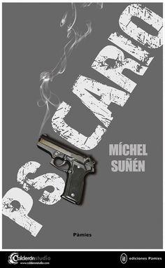 Diseño e ilustración de cubierta que he realizado para el thriller PSICARIO próximamente en Ediciones Pàmies