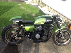 Yamaha 1100 XS cafe racer Creation Jyb