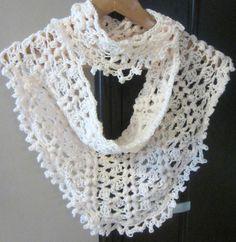 """Crochet Pattern  """"Falling Dew Drops Infinity Shawl Cowl on Etsy"""