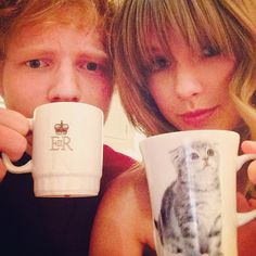 "Ed told me to caption this ""SWEERAN"""