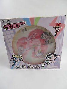 Powerpuff Girls Cartoon Wall Clock not Working | eBay