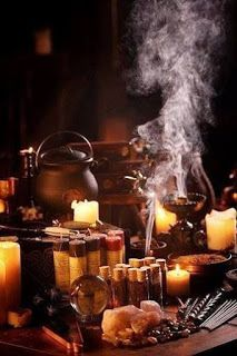A Witch's Samhain Altar. Not every witch's Samhain altar. Maleficarum, Yennefer Of Vengerberg, Love Spell Caster, Season Of The Witch, Witch Aesthetic, Practical Magic, Kitchen Witch, Love Spells, Magic Spells
