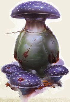 [Bestiary III] mushroom people (Myceloid)