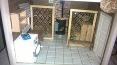 Sauna ja kodinhoitohuone