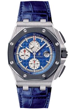 Platinum Royal Oak Offshore chronograph by Audemars Piguet