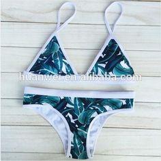 6697617af1 2017 Fashion Sexy Bikini Set Floral Printed Swimsuit Padded Swimwear  Manufacturers direct wholesale Bikini Swimwear