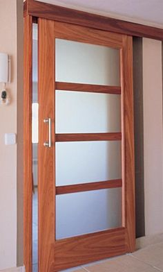 Home Door Design, Sweet Home Design, Barn Door Designs, Wooden Sliding Doors, Sliding Door Design, Front Door Design, Wardrobe Door Designs, Wardrobe Room, Room Divider Doors