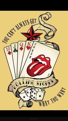 You Can't Always Get What You Want - The Rolling Stones Poster Rolling Stones Logo, Rolling Stones Quotes, Rolling Stones Tattoo, Rock Posters, Band Posters, Music Posters, Music Love, Music Is Life, Rock And Roll