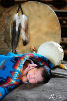 Beautiful native Canadian baby