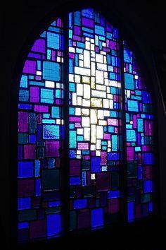 Abstract Glazing, St Mary's, Wednesbury
