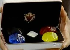 Dino gems from Power Rangers Dino Thunder