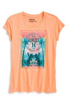Girl's Hurley 'Inspire' Graphic Tee