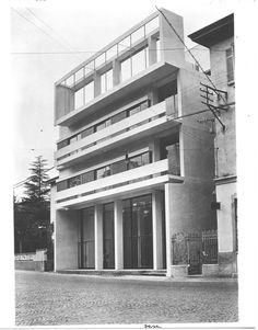 Cesare Cattaneo, Casa d'affitto a Cernobbio (1938-1939)