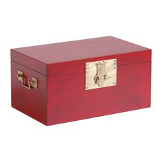 Red Small Canton Box - Ethan Allen US