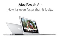 MacBook Air. Now it's even faster than it looks.