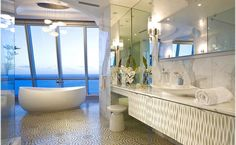Amazing Bath With Stunning Ocean Views How To Make A Home Spa Trends Luxury From Your Bathrooms