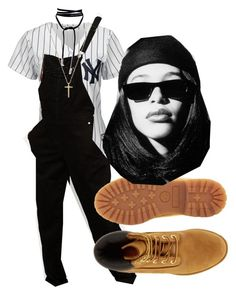 """Untitled #1115"" by beautyqueen-927 ❤ liked on Polyvore featuring Majestic, ASOS, Timberland and Gucci"