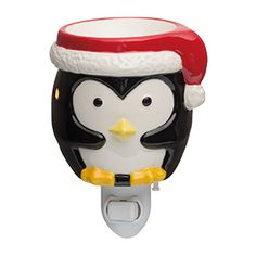 Baby Tux Nightlight Scentsy Warmer Our holiday products are now available!  www.enjoysmartscents.com