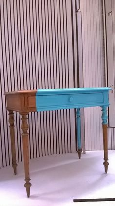 Comodino shabby righe | Hand painted furniture ideas | Pinterest ...