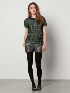 60'S Inspired Hairy Mélange Top > Womens Clothing > Sweaters at Maison Scotch