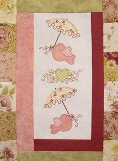 Garden Party Quilt Pattern by Teddlywinks on Etsy