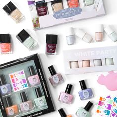 Spring is just around the corner and we can't wait to dress up! Are you excited to peel off your sweaters and break into your pastels? #Nails #Beauty #Spring