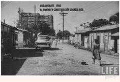 Barrio Villa Duarte 1950.