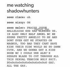 By the angel! I love Malec!