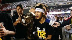 Neymar   http://cilenebonfim.com/santos-tricampeao-2012-fotos-wallpapers-e-videos/