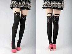 Medias de gato cat stockings