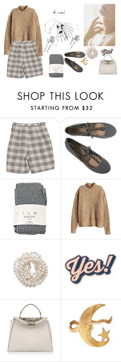 """If Only It Was That Easy"" by electrasullivan ❤ liked on Polyvore featuring Retrò, Falke, H&M, Briolette, Anya Hindmarch, Fendi, Alkemie and vintage"