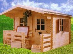 Casute din lemn & Casute de gradina Cabana, Projects To Try, Shed, Cottage, Case, Outdoor Structures, House Styles, Design, Home Decor