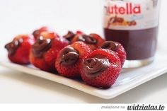 Strawberry with Nutella