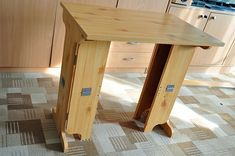 I got old computer table that was in bad shape, panels were moving and it needed some fixing. Someone before me was nailing it and doing all sorts of things. To make it stable so it was not looking good at all. I need some work bench but I live in small apartment which i rent so i did not want to screw foldable bench to wall. Also i like option that I could move it around depending of place where I need to work. Problem with small folding tables is that if desk top is small there is not…