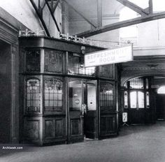 1892 - Queen's Quay Railway Station, Belfast, Co. Antrim - Architecture of Belfast, Lost Buildings of Ireland - Archiseek - Irish Architecture Civil Rights March, Carol Reed, Belfast Northern Ireland, Great Films, Local History, Street Photo, British Isles, Train Station, Old Photos