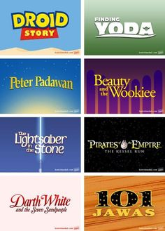Disney ~ Star Wars edition