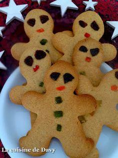 La cuisine de Davy: bonhomme de Noël au gingembre gingerbread
