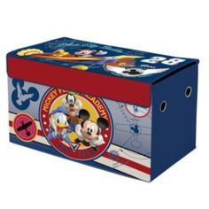 Disney Mickey Mouse & Friends Collapsible Storage Trunk