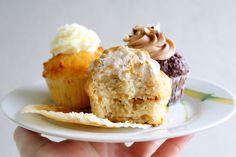 Sekrety Cookietki: Bananowe cupcake z toffi