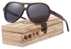 192fed8f07a GMYR Oval Bamboo Sunglasses Wooden Sunglasses Women Wood Sun Glasses Men  Polarized Ladies