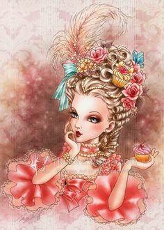 Marie Antoinette - Cupcakes